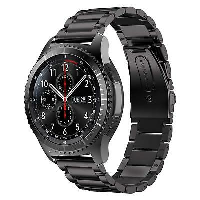 For Samsung Gear S3 Frontier Classic Watch Band Stainless Steel Bracelet Strap