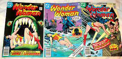 Wonder Woman #233, 234, 235 lot of 3 DC 1977 Earth-Two Wonder Woman
