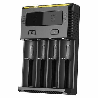 Nitecore i4 Battery Charger + Car Charger Adaptor   Genuine