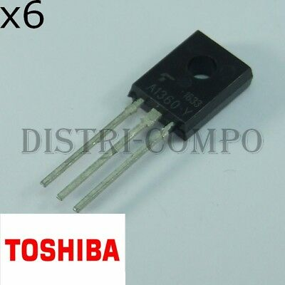 2 x 2sa1356 PNP Transistor For Audio Power Amplifier Appl Toshiba to-126 2pcs
