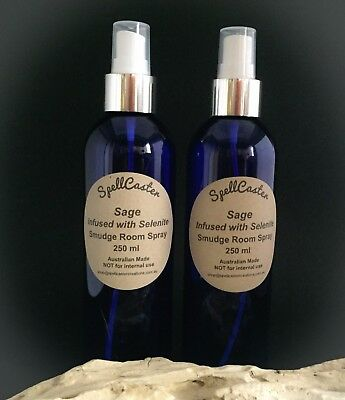 White Sage Room Spray, Smokeless Smoke Free Smudge, 250ml Back In Stock !!!
