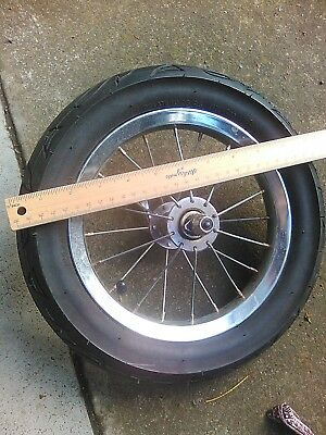 Pram Spare Front Wheel & Tyre 310mm (approx 12 inches)