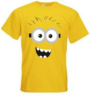 Bond T-shirt Tee Men/'s Funny Despicable Me /'Minion 007/'