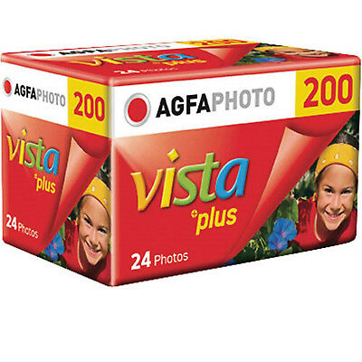 AgfaPhoto Vista Plus ISO 200 24 Exp 35mm Colour Print Film