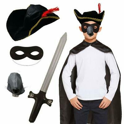 Childrens Kids Highway Rat Fancy Dress Costume World Book Day Animal Outfit.
