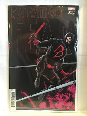 Man Without Fear #5 Connecting Variant Cover NM- 1st Print Marvel Comics