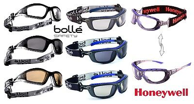 Bolle Honeywell Safety Glasses Goggles Spectacles Anti-fog & Anti-Scratch Lens