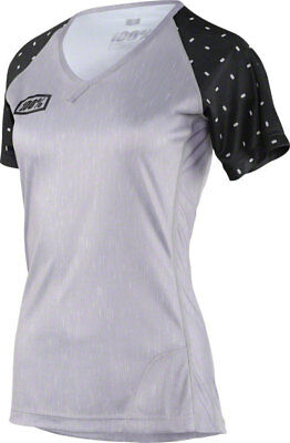 100% Airmatic Women s MTB Jersey  Skylar Gray Heather XL 07a467435