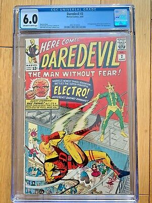 Daredevil #2 - Cgc 6.0 - 2Nd Appearance Of Daredevil And Electro (Marvel 1964)