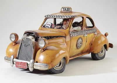 Forchino The Taxi Сollectible Figure Original in Box Rare FO85003 NEW!!!