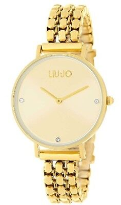 Watch Liu-Jo LUXURY FRAMEWORK Stainless Steel and Crystals - TLJ1387 Gold ddc6d3a384a