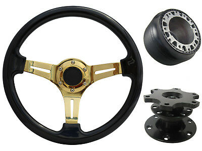 Black Gold Quick Release TS Steering Wheel Boss Kit fits LEXUS/ALTEZZA 42BK 034