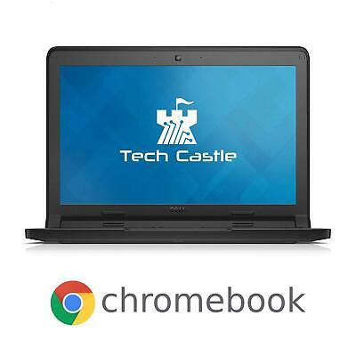 Dell Chromebook 11 Laptop Computer Chrome OS 4GB RAM 16GB SSD HDMI Pro HD Webcam