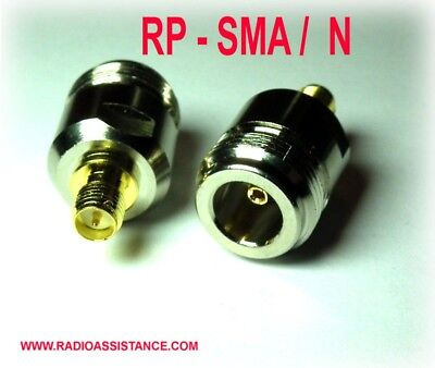 Adattatore Adapter Connettore N Female To Rp-Sma