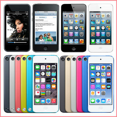 Apple iPod Touch 4th / 5th / 6th Generation 8GB, 16GB, 32GB, 64GB All Colors