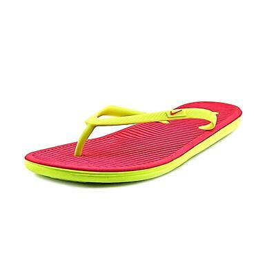 122fcca48dd4 Nike Women s Solarsoft Thong 2 Athletic Sandals Flip Flops (Vivid Pink) NWT