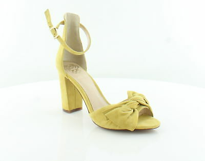 1bd5f4912f7 Vince Camuto Carrelen Yellow Womens Shoes Size 6 M Heels MSRP  110