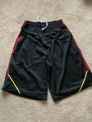 the latest 6aacb bf38d Preowned NIKE USC TROJANS AUTHENTIC Basketball Shorts NCAA Men s Sz Medium