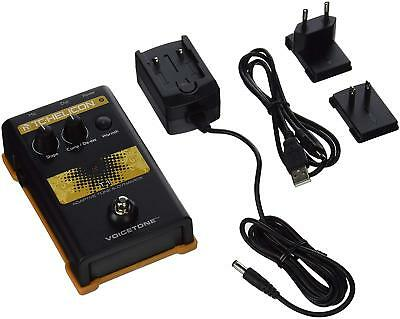 TC Helicon 996003005 VoiceTone T1 Vocal Effects Processor Dynamics Effect Pedal