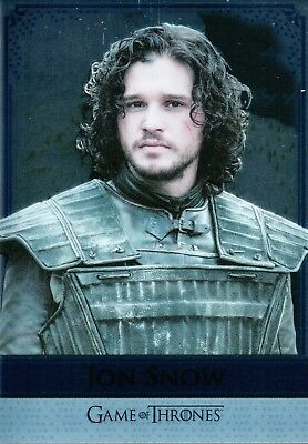 Game of Thrones Season 5, Reflections Mirror Card Jon Snow / Ygritte RM6