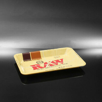 """RAW """"MINI"""" TRAY Classic Vintage Style Metal Small Rolling Tray 7x5(a651)"""