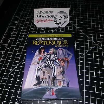 Beetlejuice 20Th Anniversary Edition Dvd Betelgeuse Brand New Factory Sealed