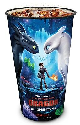 How to Train Your 3 2019 Movie Theater Exclusive 44 oz Plastic Cup