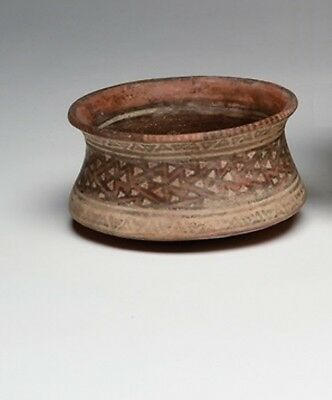 Ancient Ica-Chincha bowl with abstract design - Peru Precolumbian Art