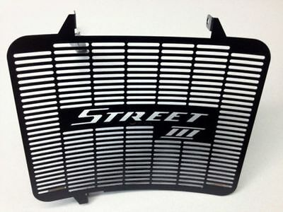 Triumph 675 Street Triple Stainless steel Radiator Guard Grill upto 2013 Black