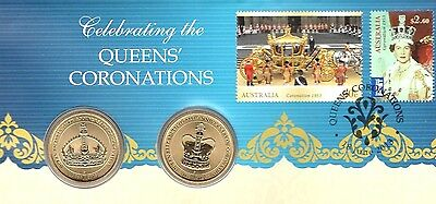 Australia 2013-Celebrating The Queen's Coronations Pnc Limeted Numbees New
