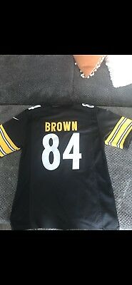 Nike On Field Youth Antonio Brown Pittsburgh Steelers  84 Football Jersey  Size L bcda1025d