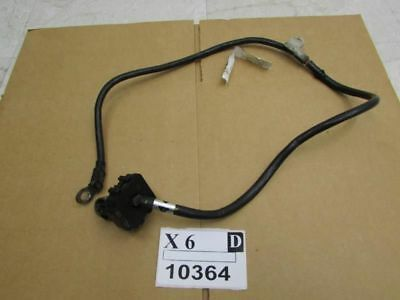 09 2010 murano battery ground terminal cable connector wire black negative OEM