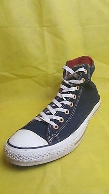 90ea9022a45a Converse All Star Chuck Taylor Blue Red Hi-Top Casual Shoes Men s (Size