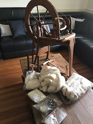 Ashford Spinning Wheel with extras