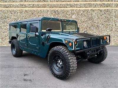 1993 AM General Hummer H1 Hummer H1 Wagon 63K w/23K on 502 Crate. 1 of 124 1993 AM General Hummer H1, Green with 63,479 Miles available now!