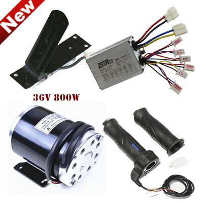 36v DC Brushed Motor Speed Controller Foot Pedal Throttle Twist Grip E-scooter
