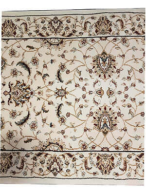 New HALL RUNNER Designer Floor Hallway Carpet VERONA 80cm FLORAL cream per metre