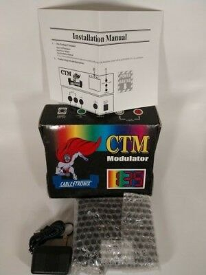 3 available CableTronix CTDM-1 Digital Modulator works well good condition