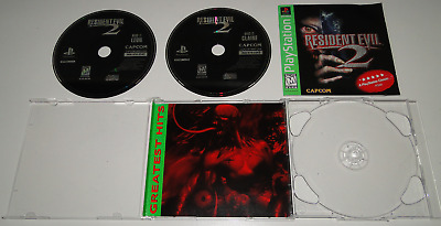Resident Evil 2 Playstation Greatest Hit Complete CIB