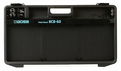 Boss BCB-60 Lightweight Deluxe Pedal Board and Case - Black