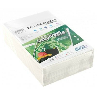 Ultimate Guard Current Size Comic Backing Boards Rigid 26pt 100ct 171 x 266mm