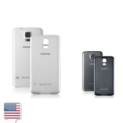 Black/White Color Samsung Galaxy S5 SV i9600 Back Battery Cover Door Case