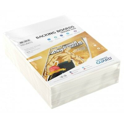 Ultimate Guard Golden Age Size Comic Backing Boards Rigid 26pt 100ct 193 x 266mm