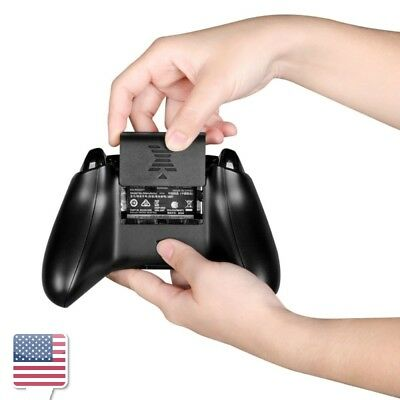 Black Rechargeable Battery Pack For Microsoft XBOX One/One S Wireless Controller