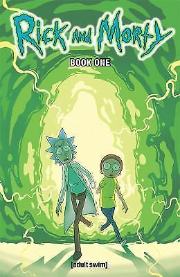 Rick and Morty Hardcover Book 1 Free Shipping