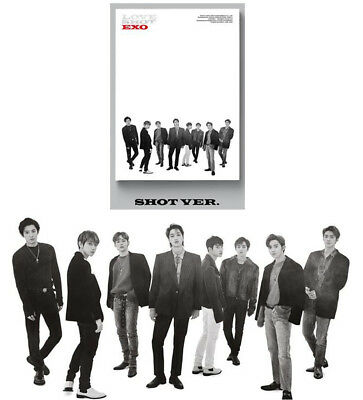 EXO K-POP 5th Repackage Album LOVESHOT [Shot Ver.] Album CD+Booklet+Photocard