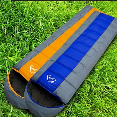 Waterproof 3/4 Season Outdoor Camping Hiking Case Envelope Single Sleeping Bag