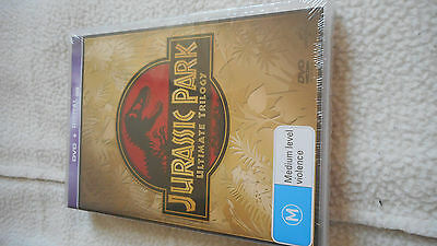 Jurassic Park Trilogy Ultimate Collection Dvd Set