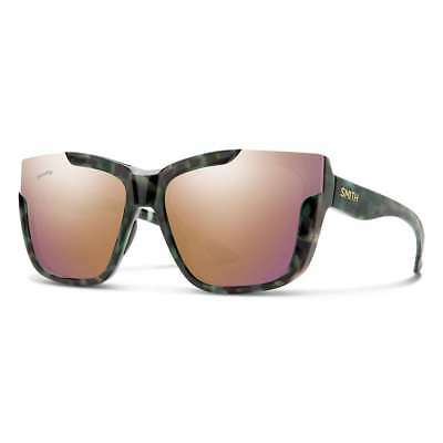 e1628b2c2c Smith Optics Dreamline Sunglasses - Camo Tortoise Frame ChromaPop Polarized  Rose