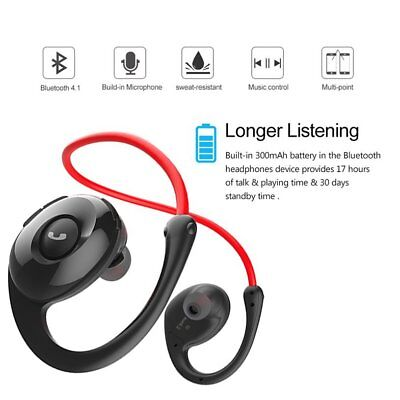 Snail In-ear Sport Bluetooth Earphone Headset Pedometer Microphone Running NEW
